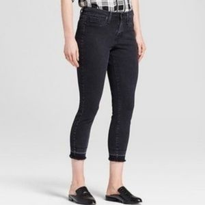 Mossimo Power Stretch High Rise Jegging Crop Jean